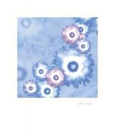 "Постер ""Абстрактные цветы"",  размер 50х60 - ДЕКАРТ - настоящая багетная мастерская на Московской!"