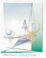 """Постер """"Абстракция с пирамидами и шарами"""", размер 40х50, арт.G4168 - ДЕКАРТ - настоящая багетная мастерская на Московской!"""