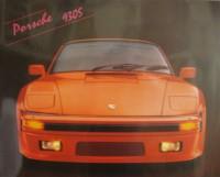 """Постер """"Авто. Порше 930S"""", размер 40х50, арт.G4193, ламинированный - ДЕКАРТ - настоящая багетная мастерская на Московской!"""
