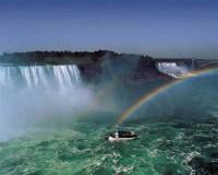 """Пейзаж. """"Ниагарский водопад"""", размер 40х50 - ДЕКАРТ - настоящая багетная мастерская на Московской!"""