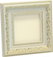 Рама, размер 13,5х13,5 см, багет 1034-White, ширина багета 6 см - Багетная мастерская ДЕКАРТ изготовление рам для картин, вышивок, зеркал