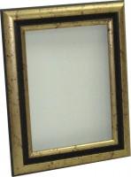 Рама, размер 18х24 см, багет 163 ОАС 503, ширина багета 4,5 см - Багетная мастерская ДЕКАРТ изготовление рам для картин, вышивок, зеркал