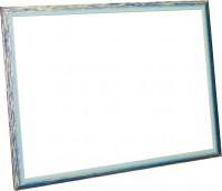 Рама, размер 60х80 см, багет 93R5BW, ширина багета 4 см - Багетная мастерская ДЕКАРТ изготовление рам для картин, вышивок, зеркал