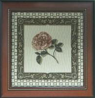"""Гобелен в раме """"Голландская роза"""", размер 34х35, багет 601.0139-03 - Багетная мастерская ДЕКАРТ изготовление рам для картин, вышивок, зеркал"""