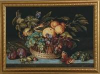 """Гобелен в раме """"Натюрморт"""", размер 55х78, багет ЗКО - Багетная мастерская ДЕКАРТ изготовление рам для картин, вышивок, зеркал"""