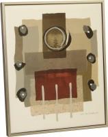 """Постер в раме  """"Абстракция"""", размер 52х43, багет КЭНВАС - ДЕКАРТ - настоящая багетная мастерская на Московской!"""