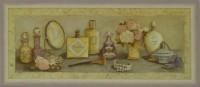 """Постер в раме  """"Парфюмерия"""", размер 51х21, багет 084 сирен - ДЕКАРТ - настоящая багетная мастерская на Московской!"""