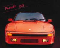 """Авто.  """"Автомобиль Porsche 930S красный"""", размер 20х25 - ДЕКАРТ - настоящая багетная мастерская на Московской!"""