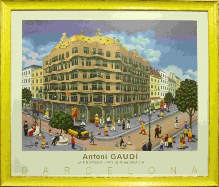 Постер Барселона