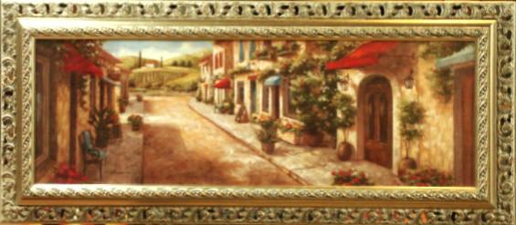 Постер Итальянская улочка (Панорама)