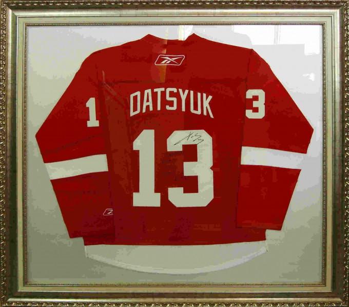 Хоккейная форма с автографами2, размер 120х100 см