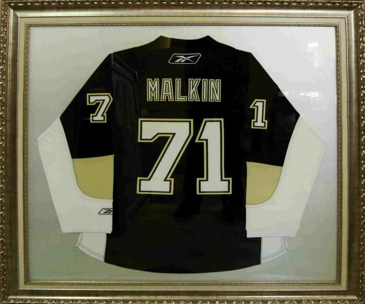 Хоккейная форма с автографами3, размер 120х100 см