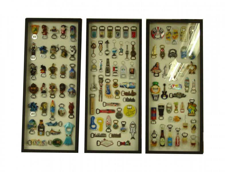 Коллекция открывашек, размер 90 х 40 см каждая рама
