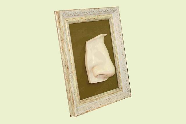 Скульптура Нос, размер 50 х 40 см